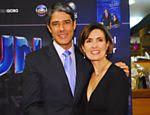 Fátima Bernardes e namorado, Túlio Gadêlha, vão ao cinema em um shopping do Rio