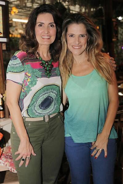 Fatima Bernardes participa do programa Mulheres Possiveis do GNT com Ingrid Guimaraes